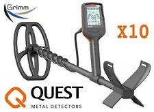 Metalldetektor Quest X10 ! NEUHEIT ! TOP PREIS ! vom Fachmann