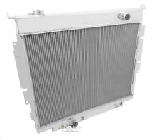 Champion Racing 4 Row Alum Radiator For 1983 - 94 Ford F-Series Truck Diesel