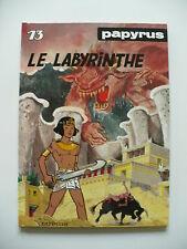 EO 1990 (très bel état) - Papyrus 13 (le labyrinthe) - De Gieter - Dupuis