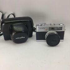 [Rare!] Minolta Hi-Matic 7s 35mm Rangefinder 45mm f/1.8 from JAPAN untested