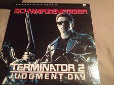 Terminator 2 Judgment Day Arnold Schwarzenegger  LD 2 Discs HTF