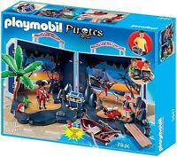 Playmobil Pirate Treasure Chest Playset - 5947 -  78 Piece Set with Pirates NIB