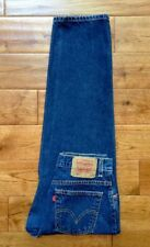 Levi's 550 Classic Relaxed Fit Tapered Leg HIGH WAIST MOM Jeans 10 S W30 L 28.5