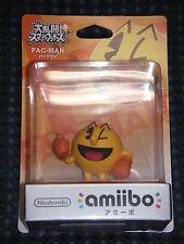 Nintendo Amiibo Figure PAC-MAN PACMAN NAMCO 3DS Wii U Super Smash Bros JAPAN F/S