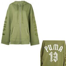 Puma Fenty By Rihanna Fleece Hoody With Harness Green Womens 574328 01 A58C