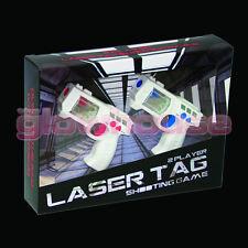 Mini Laser Tag Two Player Shooting Gun Office Fun Game