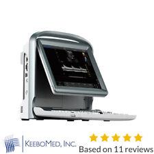 Color Doppler Chison Ultrasound & Linear Probe, Trolley, Battery, Pw Vascular