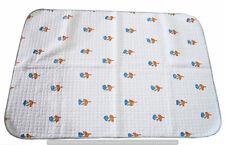 Indian Handmade Baby Quilt Ethnic Cotton Flower Block Print Blanket Beddding Art