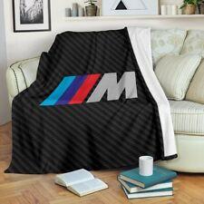 Black BMW M Power Premium Blanket Bedding