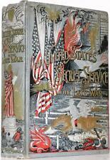 1890 Us Secret Service In The Late War Abraham Lincoln Assassination Civil War