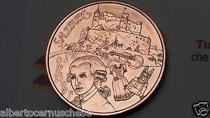 10 euro 2014 rame Cu Austria Autriche Osterreich Salisburgo Salzburg Mozart
