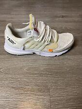 Nike Air Presto x OFF WHITE White/Black-Cone Size 14 Rare Travis Virgil W Box