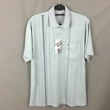 """Men's Grey Golf Polo Style Short Sleeve  T-Shirt Large 44"""" Chest BNWTS"""
