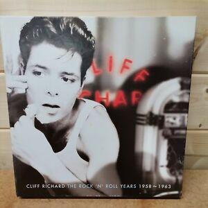 "CLIFF RICHARD ""THE ROCK N ROLL YEARS"" 4xCD BOX SET+ BOOKLET. EMI.UK."