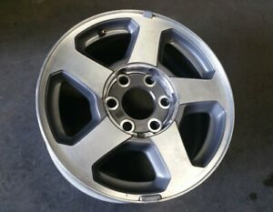 "16"" CHEVY TRAILBLAZER EXT 2002-2006 OEM Factory Original Alloy Wheel Rim 5140"
