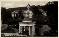 Bad Liebenstein Ansichtskarte 1932 Partie am Hotel Der Kaiserhof mit Brunnen