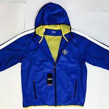 Ralph Lauren Polo Sport Blue Hooded Waterproof Tournament Jacket New 4 Sizes