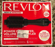 Used Revlon One Step Hair Dryer and Volumizer Brush Black Pink Good Condition