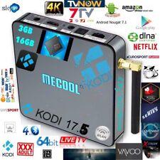 MeCool BB2 Pro Android TV Box 4K 3Gb 16GB KODI 17.6 VAVOO Full Installation NEU