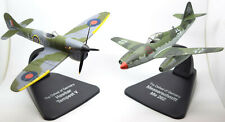 Hawker Tempest V and Messerschmitt Me262 Two Plane Set 1:72 Scale Diecast Models