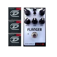 ADA PBF Flanger Guitar Effects Pedal Board Friendly Size ( 3 FREE STRING SETS )