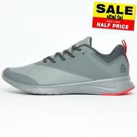Reebok Print Lite Rush Men's Running Shoes Fitness Gym Trainers Grey