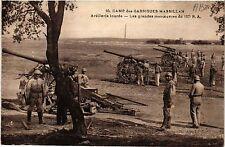 CPA  Camp des Garrigues Massillan - Artillerie lourde - Les grandes...  (459397)