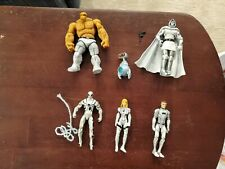 Marvel Universe Fantastic Four Future Foundation, Spider Man, Dr Doom Lot