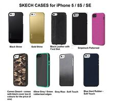 Genuine Skech Shell Case for the iPhone 5 5S Old SE High Quality Retail Packed