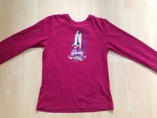 Esprit Langarmshirt 140/146 S Space Shuttle T-Shirt rot