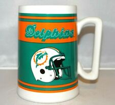 NFL Miami Dolphins Ceramic 20oz. Beer Stein Mug Tankard Football Florida RUSS