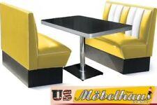 Chaises vintage/rétro jaune pour la salle à manger
