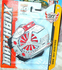 2013 Matchbox Skybusters 60th Anniversary Silver & Red Strato Saucer Mbx 5+