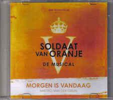 Promotie singel Soldaat van Oranje -Matteo van der Grijn- morgen is Vandaag
