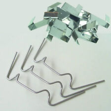 Greenhouse Glass Glazing Fixing Repair Replacement Clips 100 x W & 100 x Z Clip