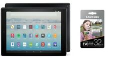 "Fire HD 10 Tablet 10.1"" 1080p Full HD Display 32 GB & Samsung 32GB MicroSD"