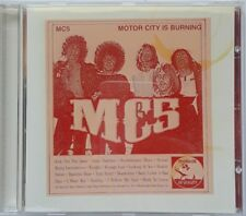 MC5 Motor City Is Burning CD 2001 Trojan Records Punk Garage Metal Live Concert