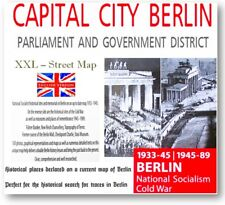 Berlin Street Map historical traces search Bunker Führer Hitler Places national