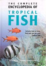 TROPICAL FISH COMPLETE ENCYCLOPEDIA Ester J Verhoef-Verhallen **VERY GOOD COPY**
