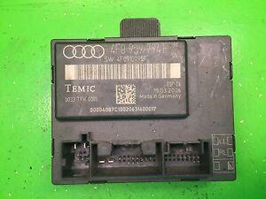 Audi A6 4F Door Control Unit Control Unit rear right 4F0959794F 4F0910795F