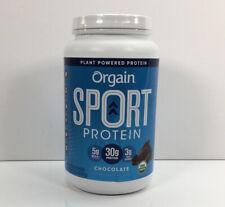 Orgain, Sport Protein Powder, Chocolate with Tart Cherry & Turmeric, 2lb