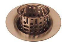 Brizo 69051-Bz Brushed Bronze Bar/Prep Sink Flange and Strainer