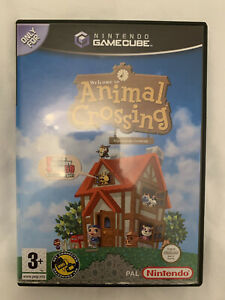 Animal Crossing (Nintendo GameCube) Inc Manual and Memory Card
