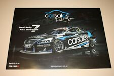V8 Supercars Nissan nismo Enduro Poster Todd Kelly Alex Buncombe Carsales Racing