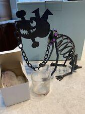 Partylite Dog Halloween Tealight Holder. P8280