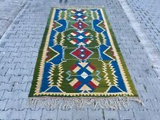 Turkish kilim, Anatolian kilim, home decor, area rug,