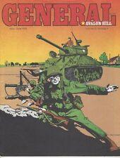 GENERAL MAGAZINE VOL. 20 #1 AVALON HILL G.I. ANVIL OF VICTORY W/INSERT 1983
