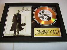 JOHNNY CASH   SIGNED  GOLD CD  DISC  1