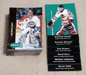 1991-92 Parkhurst Hockey Series 2 Cards #226 - 450 (Pick Choose Complete)