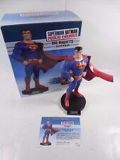 DC DIRECT SUPERMAN/BATMAN PUBLIC ENEMIES DVD SUPERMAN MAQUETTE STATUE #1297/4000
